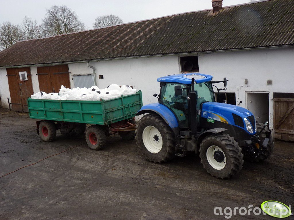 New Holland T6080 Power Command & HL 8011