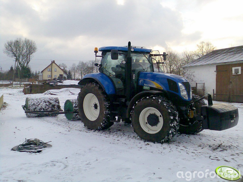 New Holland T6080 Power Command + Wały