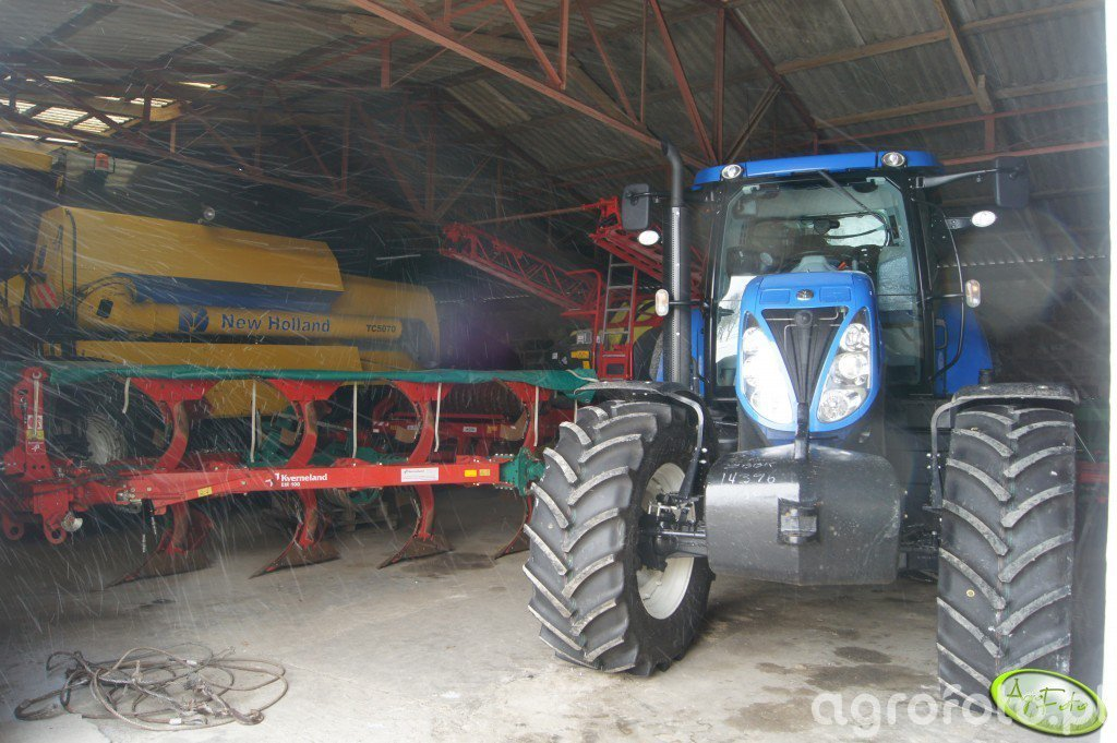 New Holland T6080 Power Command