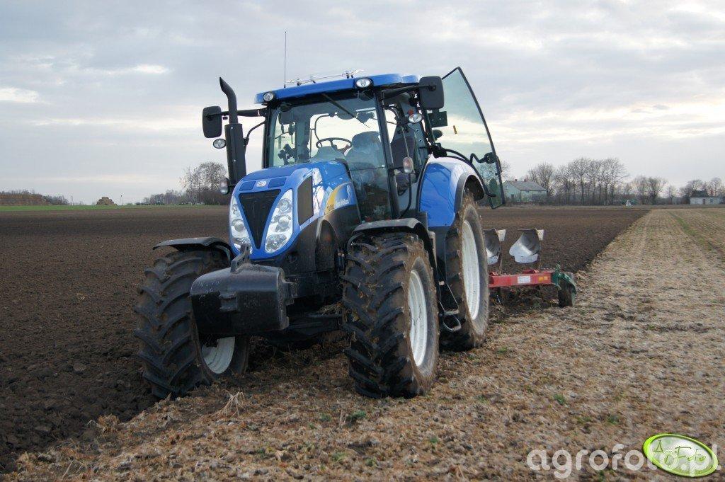 New Holland T6080pc i Kverneland