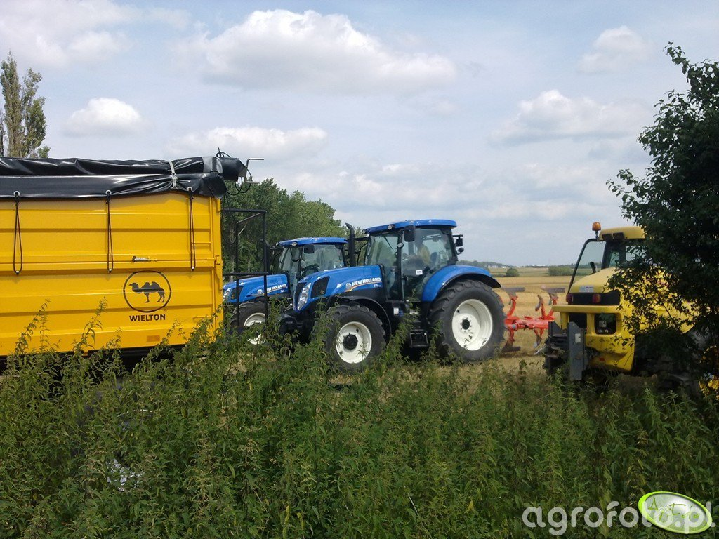 New Holland T6.175 & T7.170