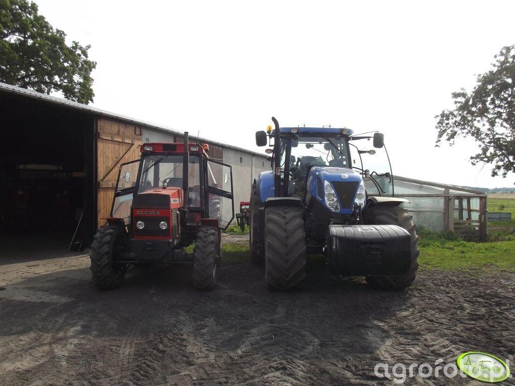New Holland T7.220 PC & Ursus 1014