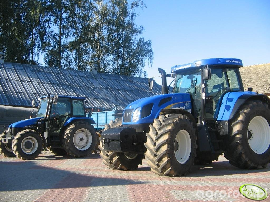 New Holland T7540 + New Holland TL100