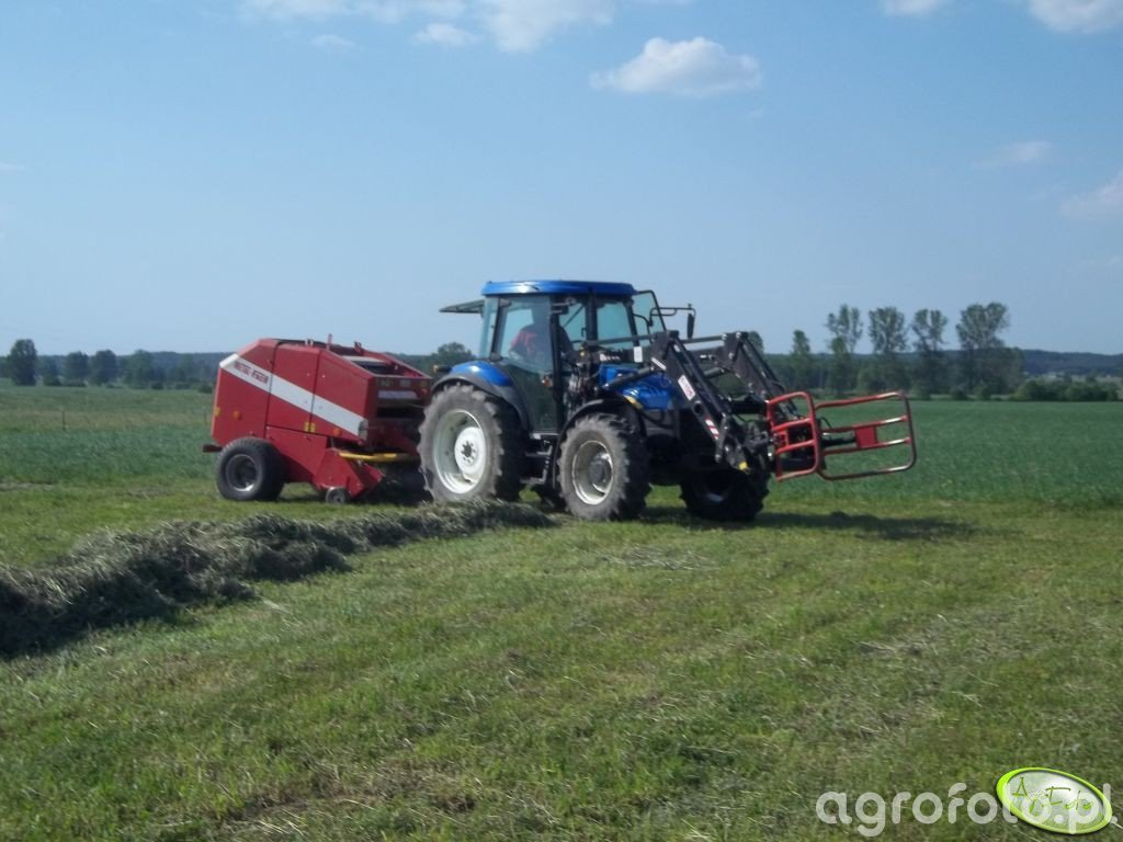 New Holland TD5030 & Metal-Fach Z-562