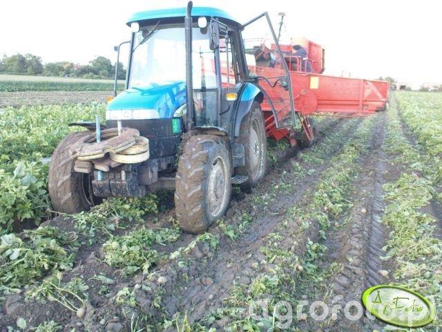 New Holland TD60D + Grimme LK 650
