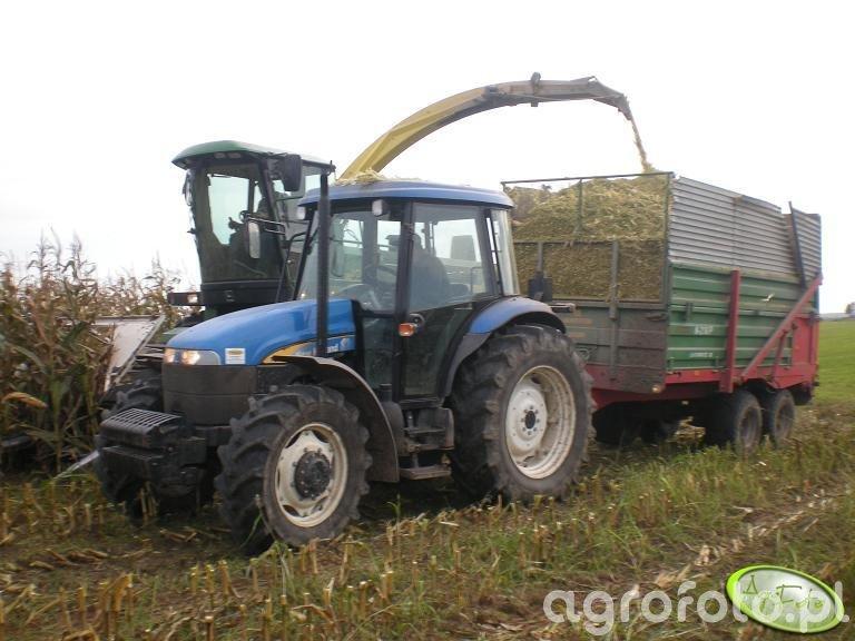 New Holland TD95D + Warfama N218/P