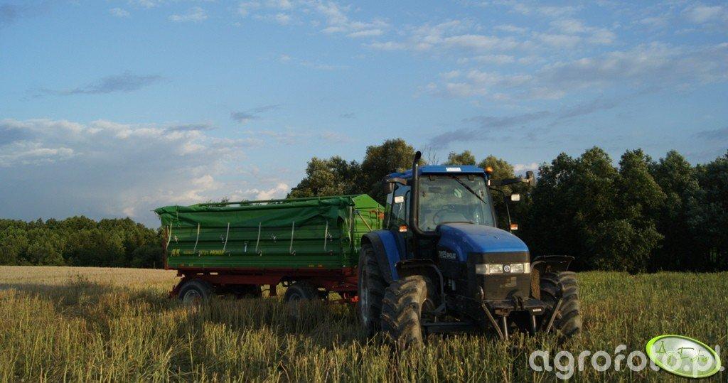 New Holland TM 125 i Pronar T672/1