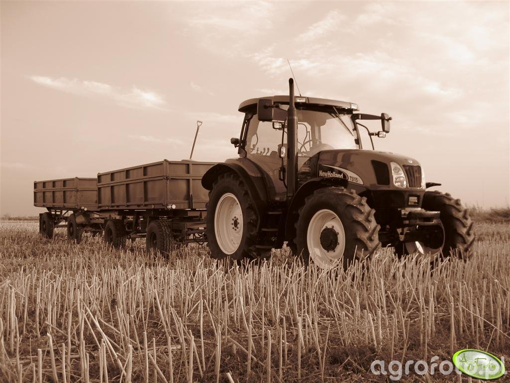 New Holland TS 115A + P78 S + Autosan D50