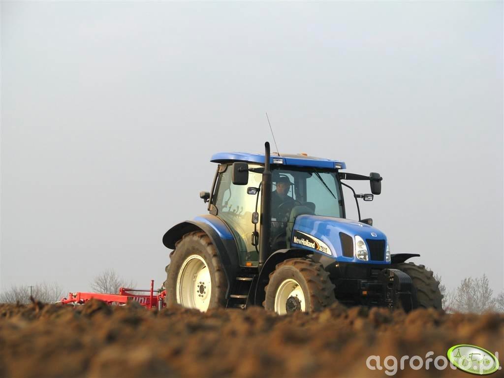 New Holland TS 115A + UNIA KOMBI 4.2 BH
