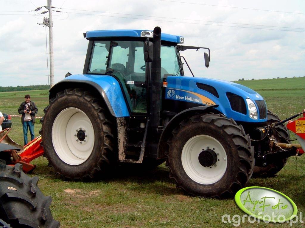 New Holland TVT 155 niezła bryka by była za ta kas a ;)