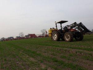 New Holland L75 & Pilmet 815