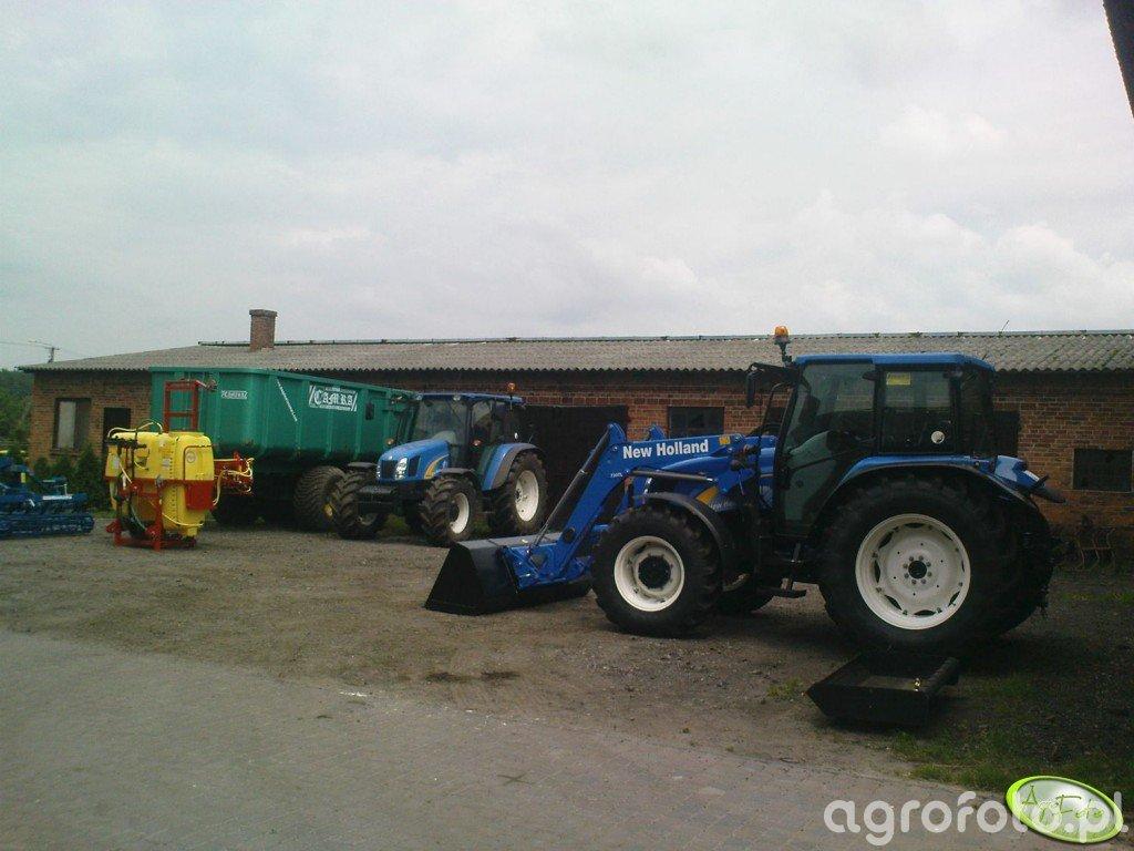 NH T5060, T5030 i kilka gratów