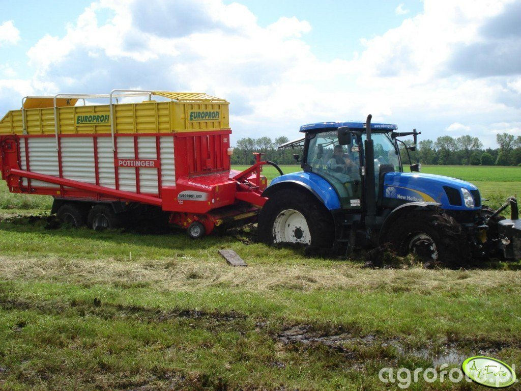 NH T6030 RC + Pottinger Europrofi 5000