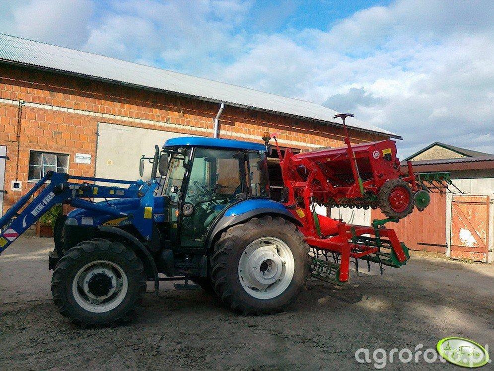 NH TD5040 & Unia Eco 410