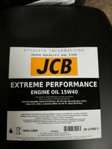 olej jcb