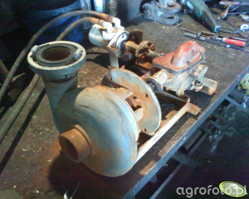 Pompa do napełniania opryskiwacza