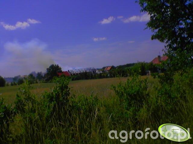 pożar stodoły