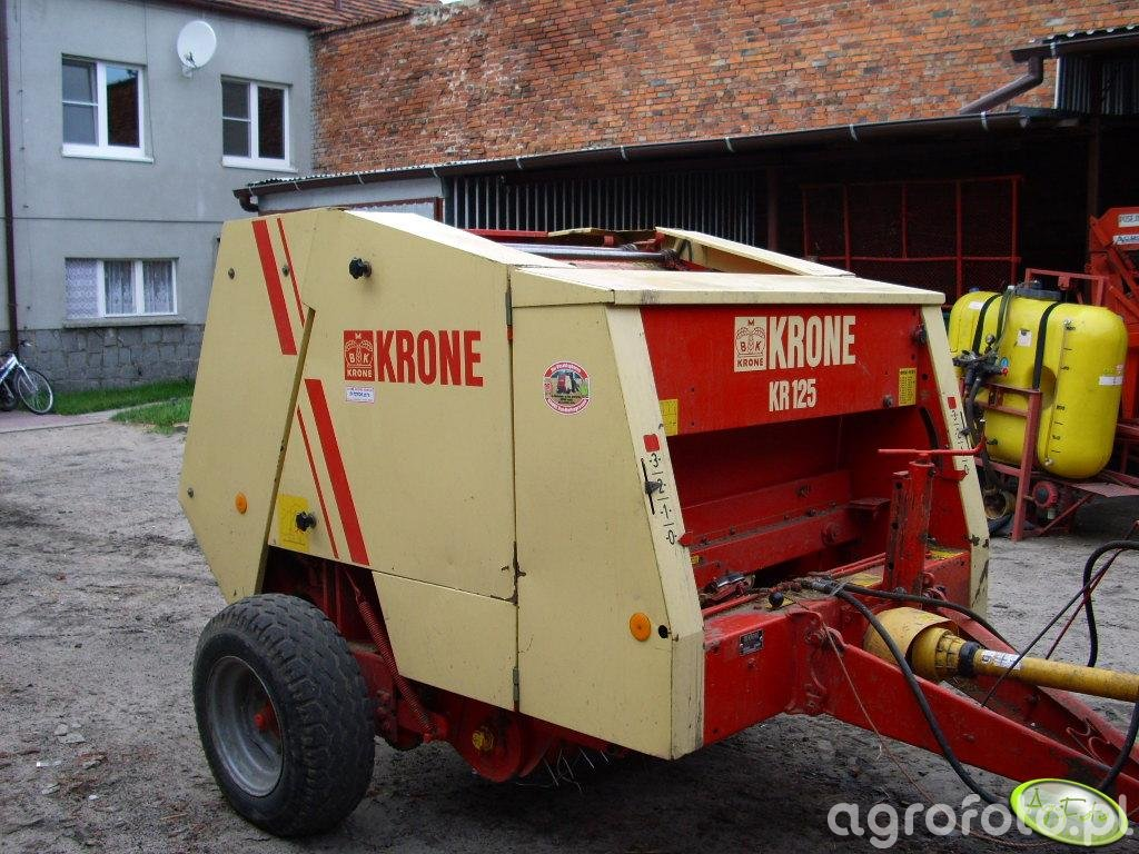 Prasa Krone KR125