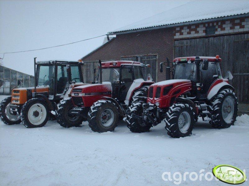 Pronar 1221 A II & Case 5140 & Renault 85-14TX