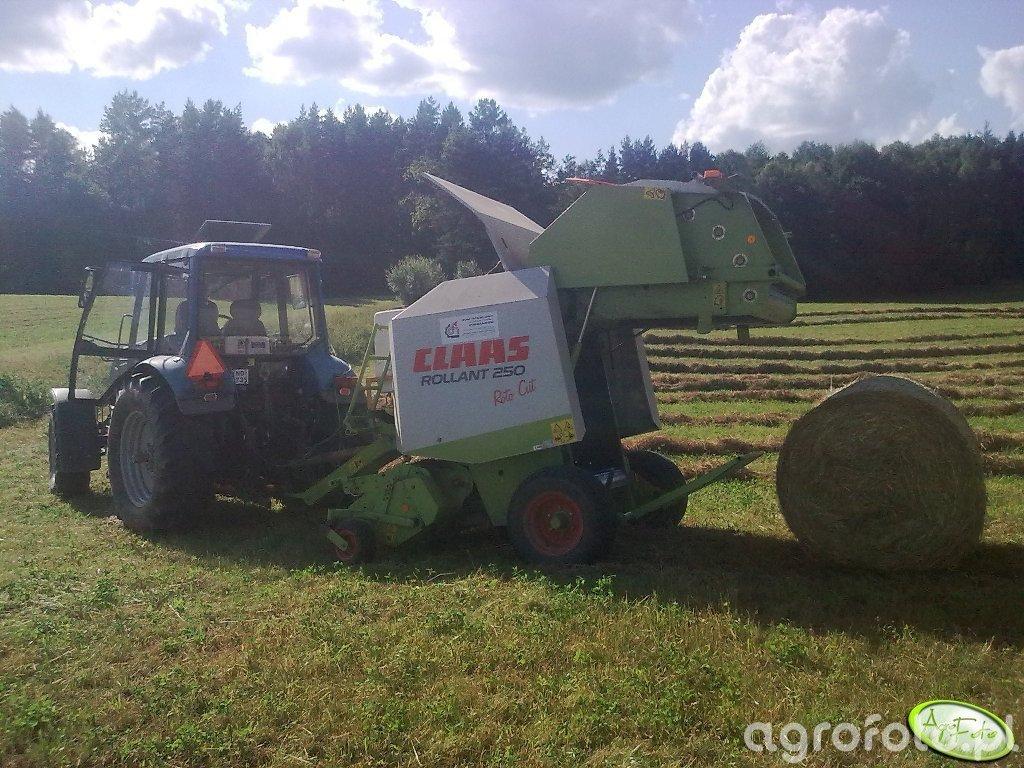 Pronar 1221A + Claas rollant 250 roto cut