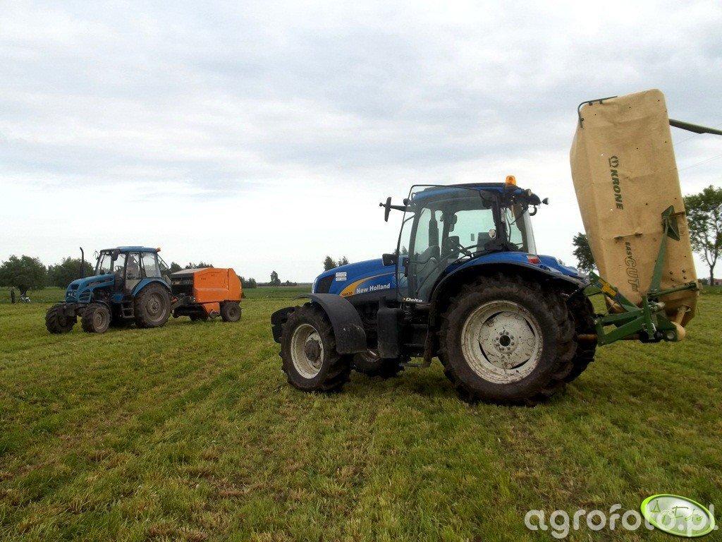 Pronar 82A & New Holland T6030 Delta