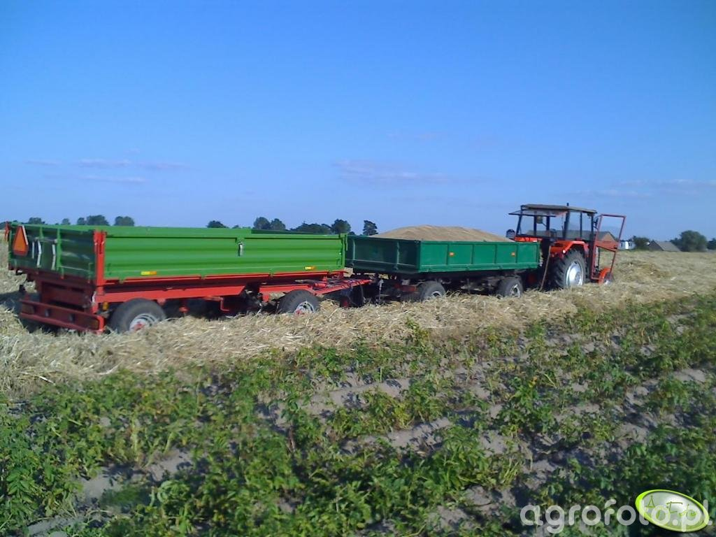 Pronar T653 & Autosan D 45