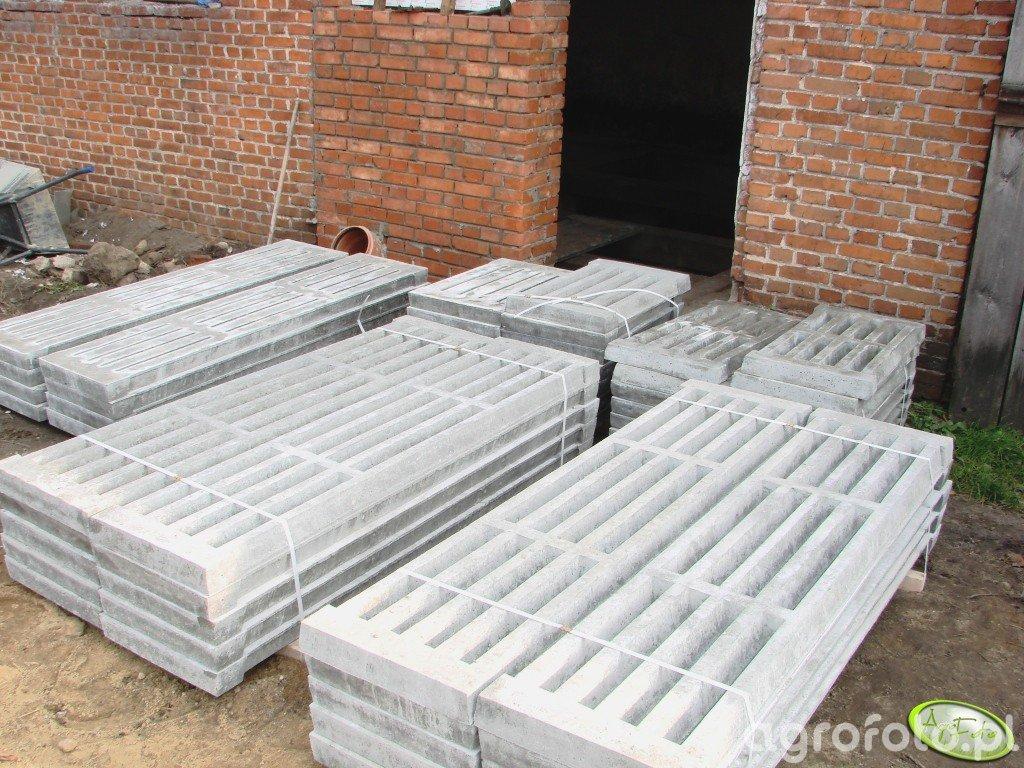 Ruszta betonowe