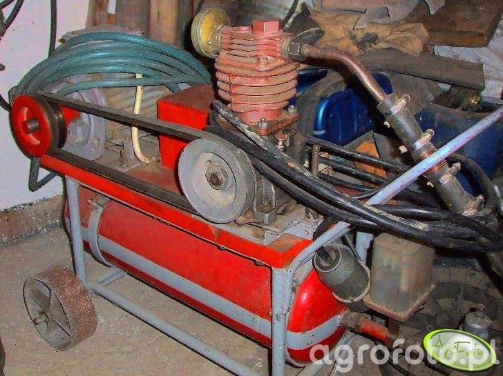 Sprężarka made in garage :)