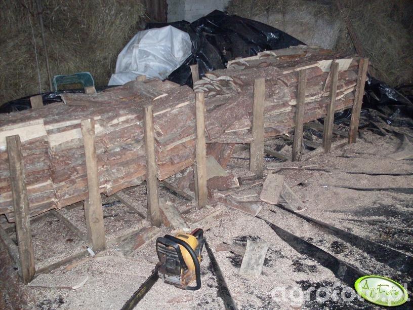Stelaż do cięcia drewna na opał