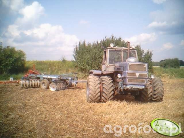 T-150K i Frost+brona mulczowa