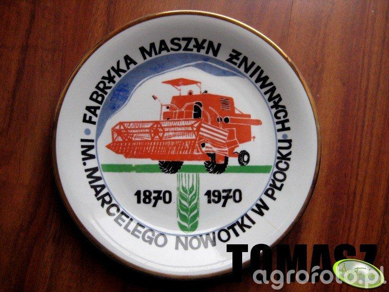 Talerz pamiątkowy 100-lecie FMŻ w Płocku