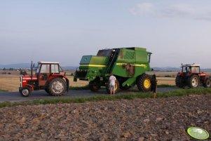 Tragedia w polu - John Deere CWS 1450 SII