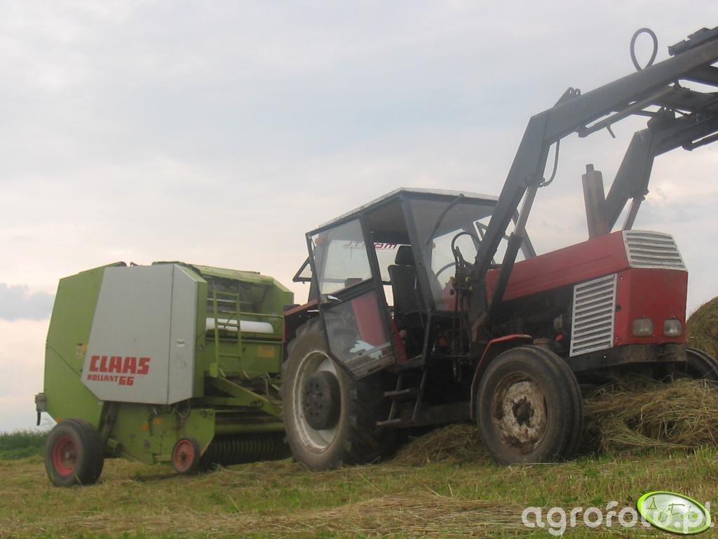 Ursus 1201 + Claas Rollant