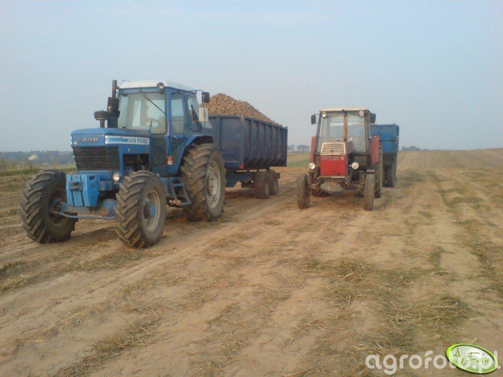 Ursus 1201 + Ford 8700