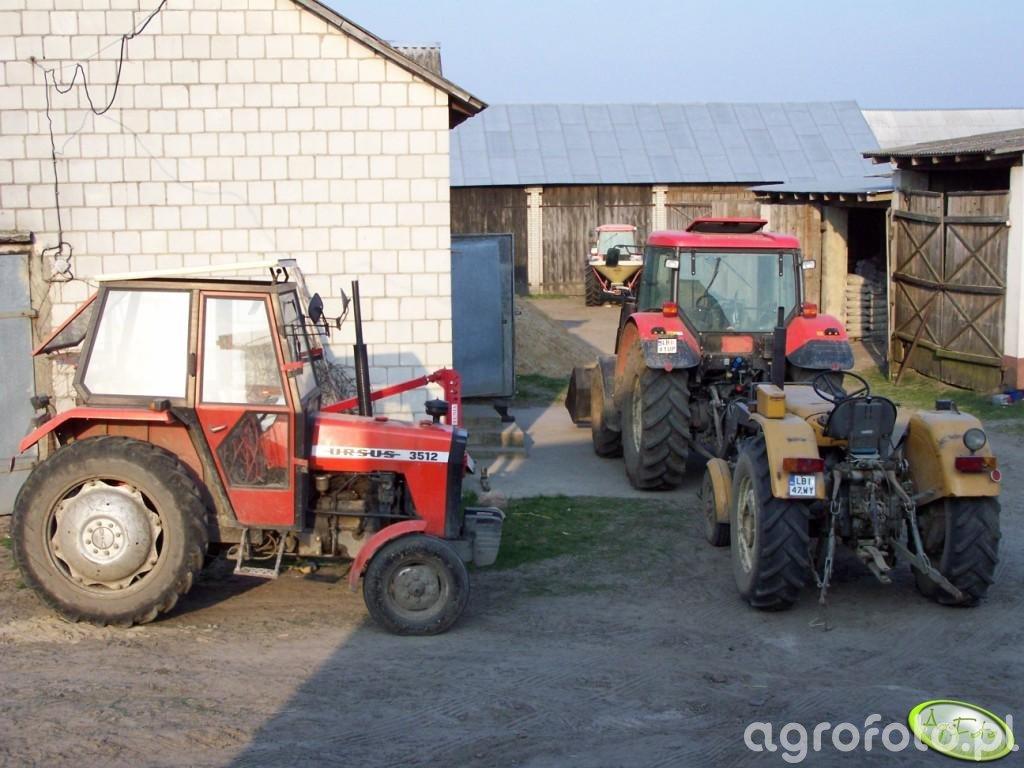 Ursus 3512 i C360 + Zetor 9641 + Kubota ME8200
