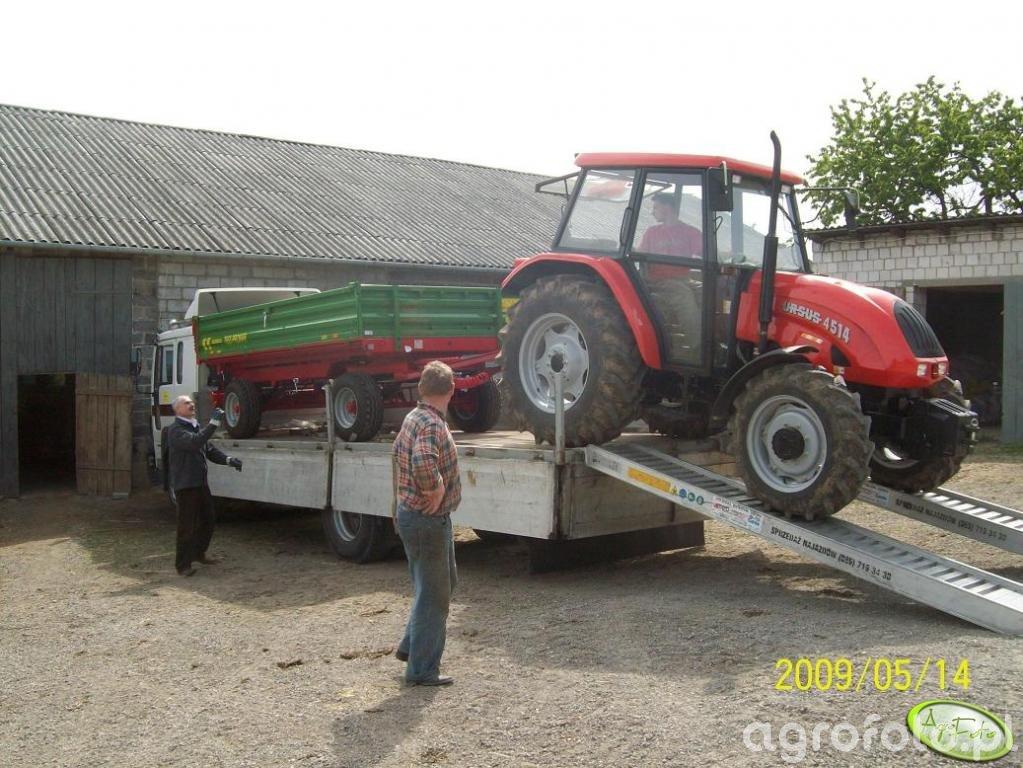 Ursus 4514 Agro Bis + Pronar T653