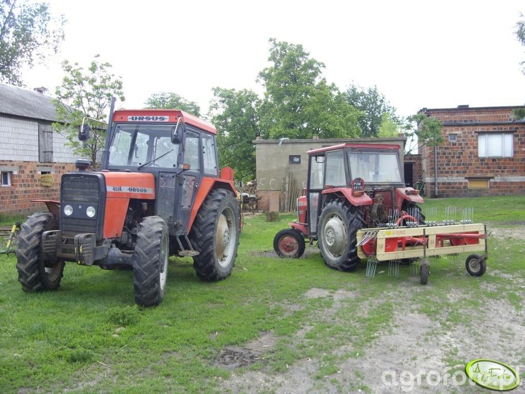 Ursus 4514 & MF 255
