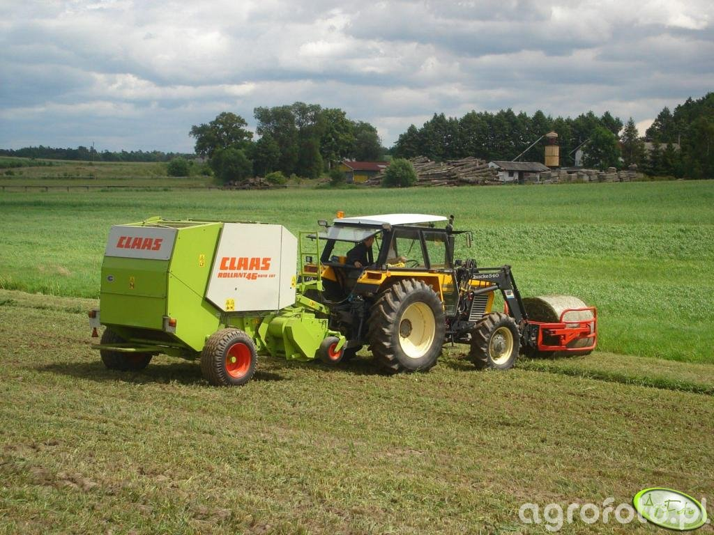 Ursus 904 + Claas Rollant 46 RC