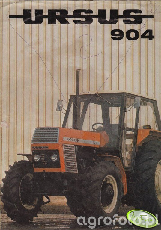 Ursus 904 - Prospekt
