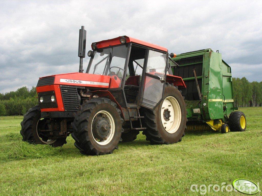Ursus 904 Turbo + JD 550