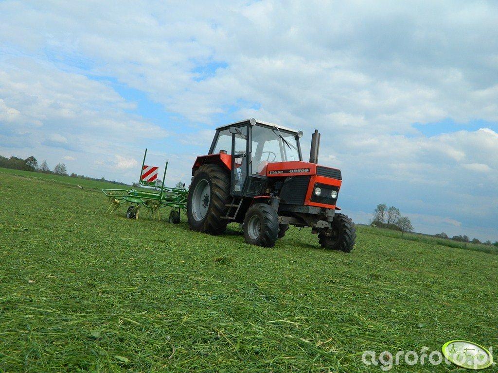 Ursus 912 + Krone KW 4.62/4