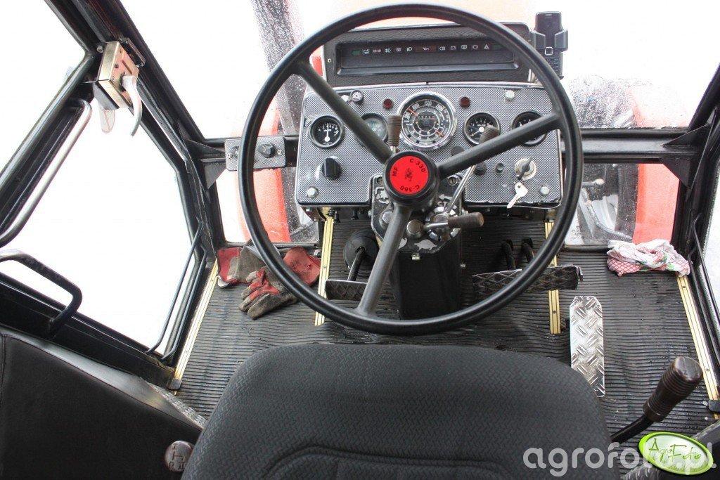 Ursus 912 - Wnętrze