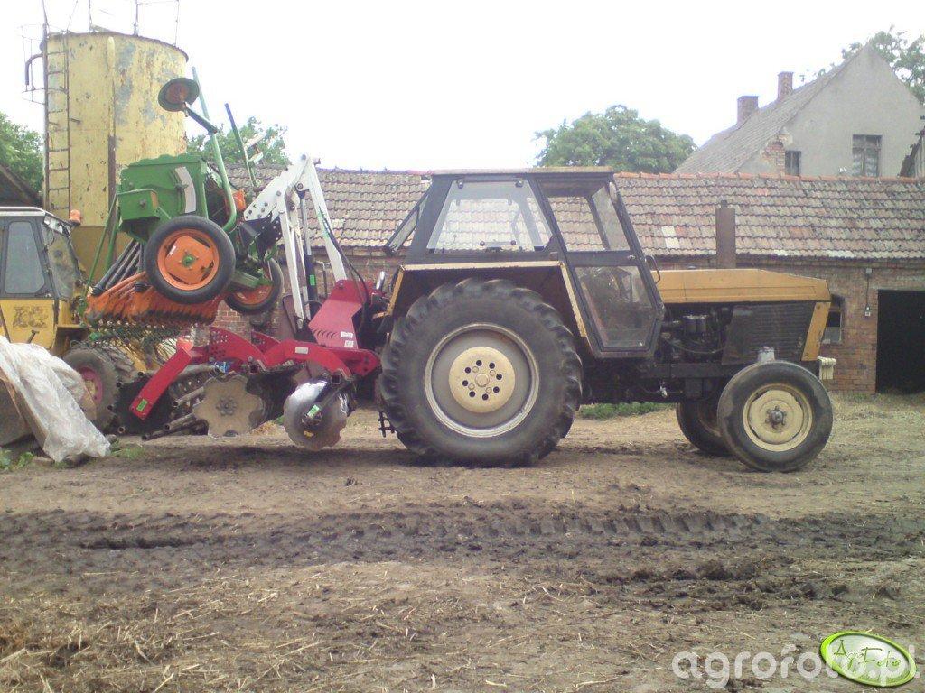 Ursus 912 z Grano-System & Amazone D8