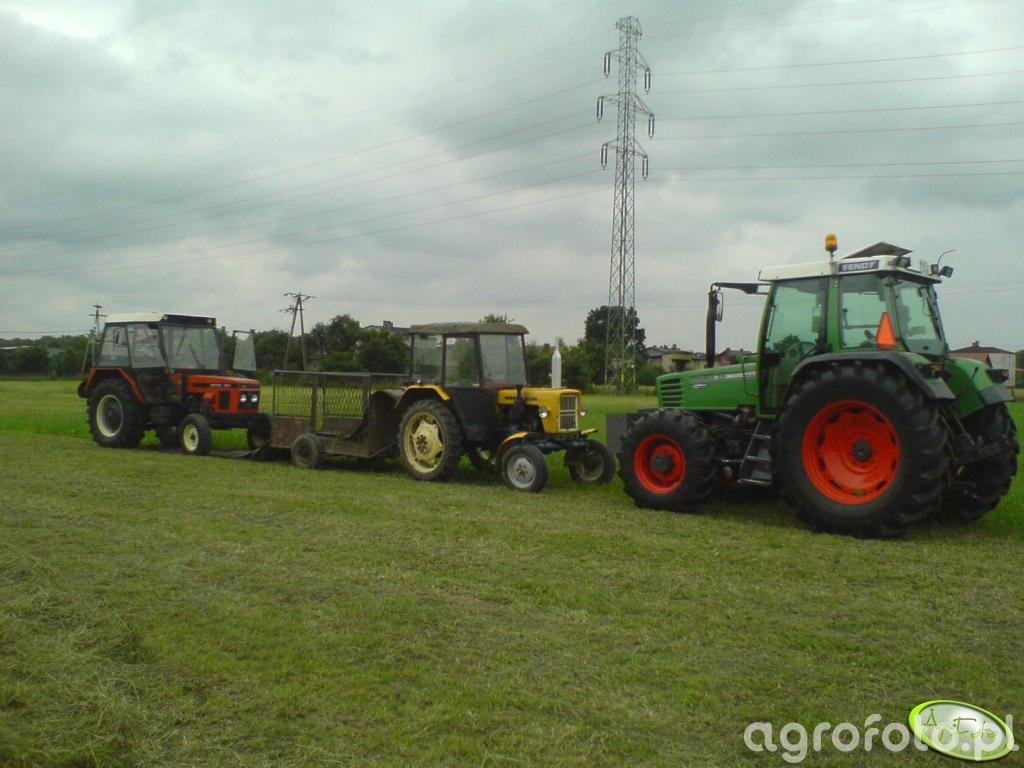 Ursus C-330, Zetor 7211 i Fendt Farmer 310