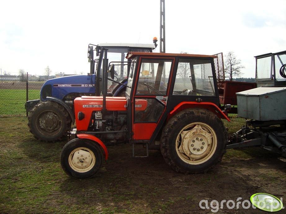 Ursus C-330M +Farmtrac 80 4 WD