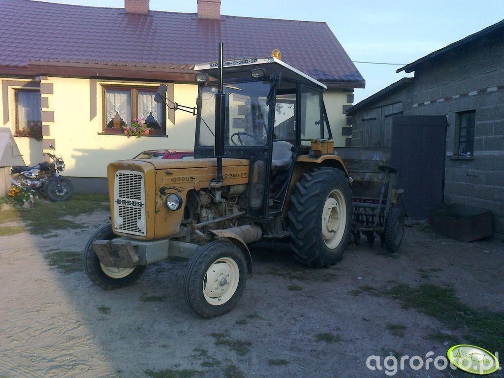 Ursus C-360 3P & Siewnik Poznaniak