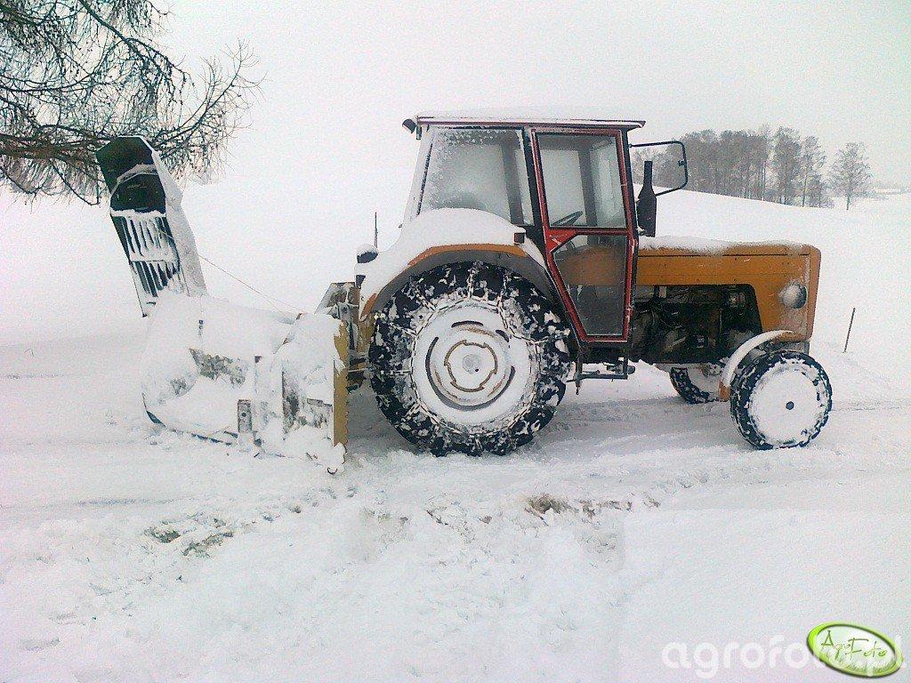 Ursus C-360 & dmuchawa do śniegu