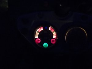 Ursus C-4011-podświetlenie zegarów