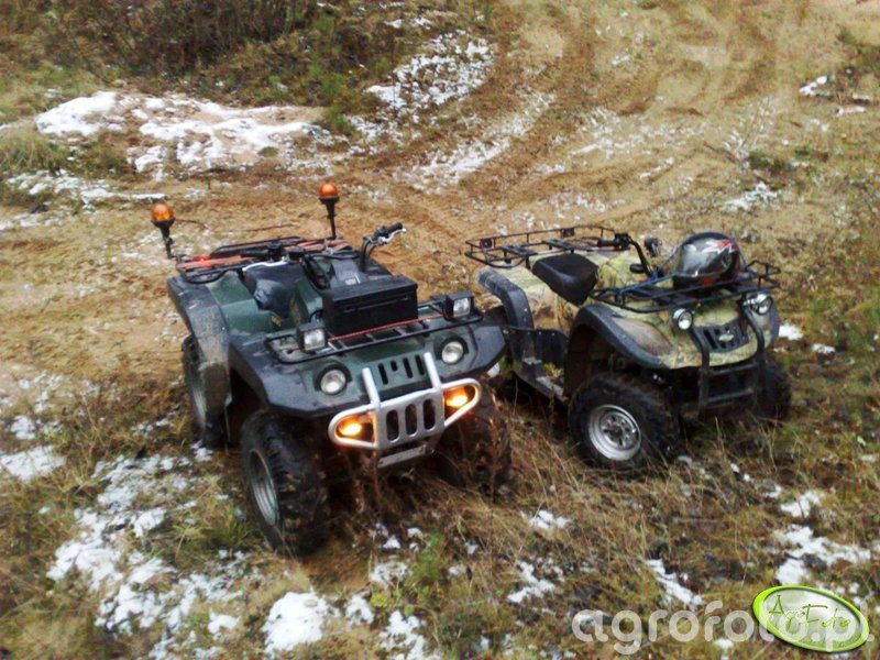 Yamaha  Grizzly 600 & Jianshe 250