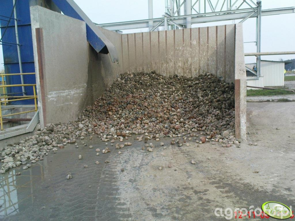 Zanieczyszczenia w cukrowni
